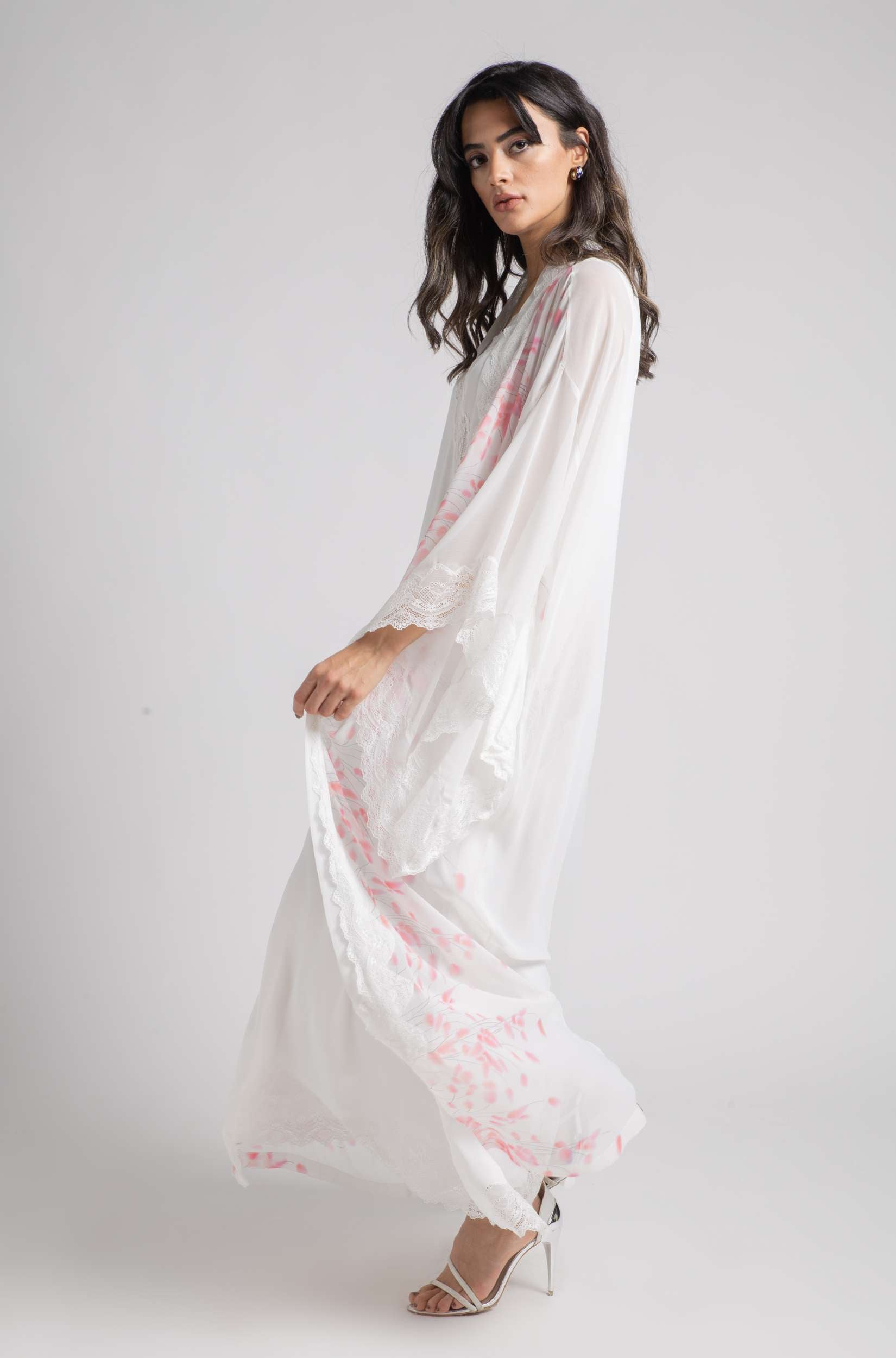 Robe Set - Silky Pink Cotton