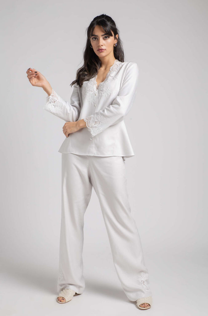 Pajama - Light Grey Luna - Off White