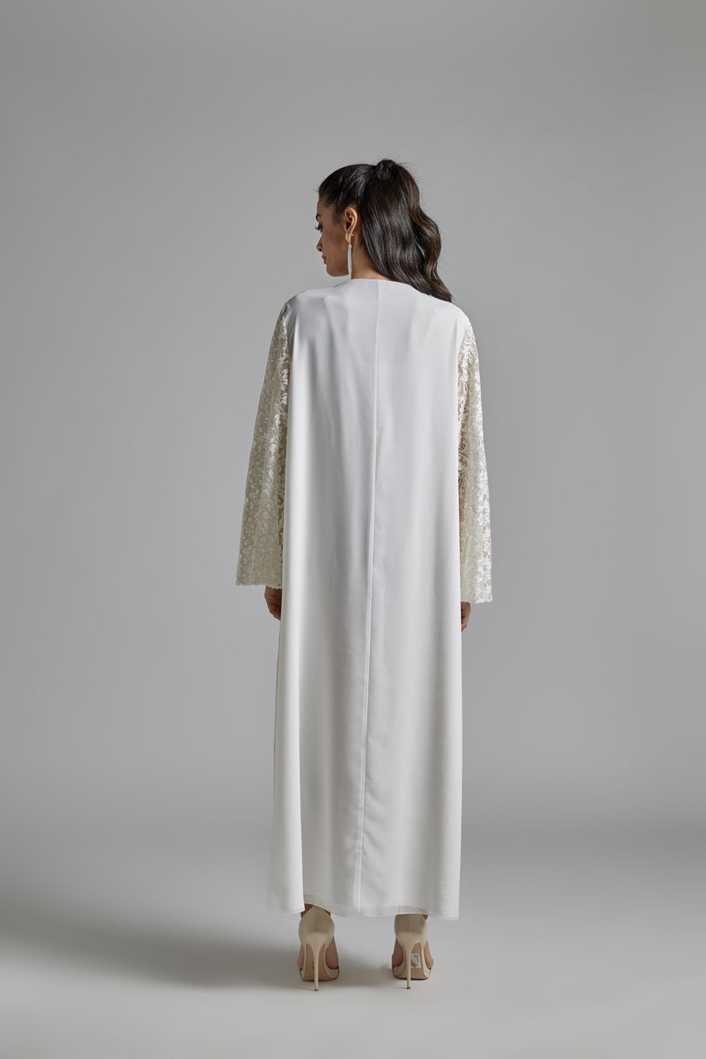 Nightgown Off White and Gold - Lizy