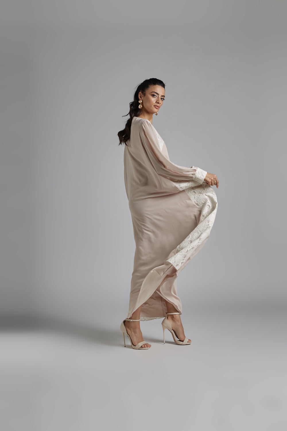 Nightgown Light Pink- Dusty