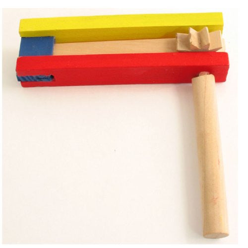 Purim Wooden Gragger