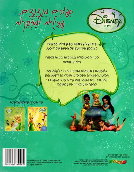 Walt Disney Workbook - Fairies