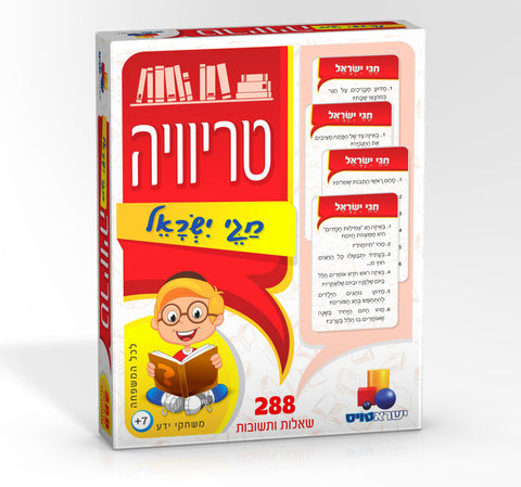 Trivia Card Game  - Jewish Holidays