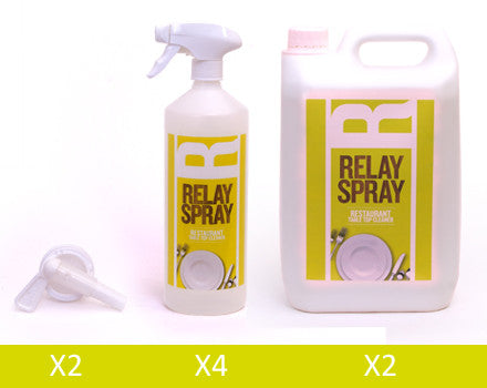 Relay Spray 5L Bulk pack