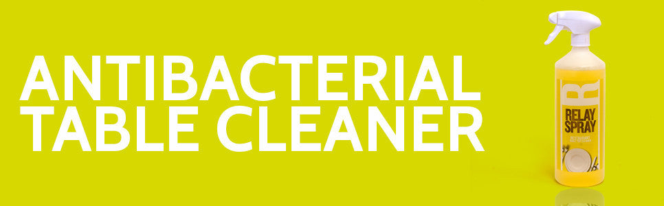 Antibacterial table cleaner