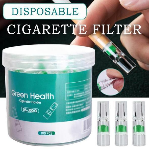 Disposable Cigarette Filter 100Pcs ( Buy 2 Get Extra 10% Off )