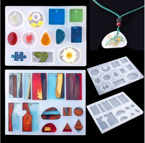 【HOT SALE】DIY Crystal Glue Jewelry Mold 83 Pcs Set