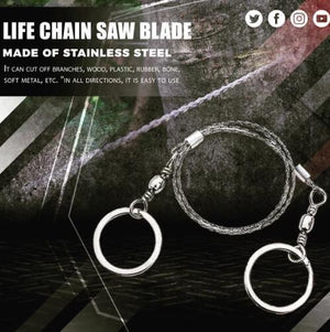 Life Chain Saw Blade ( Buy 2 Get Extra 10% Off )