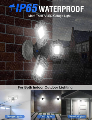 【HOT SALE】Tempest Three-Leaf Garage Light