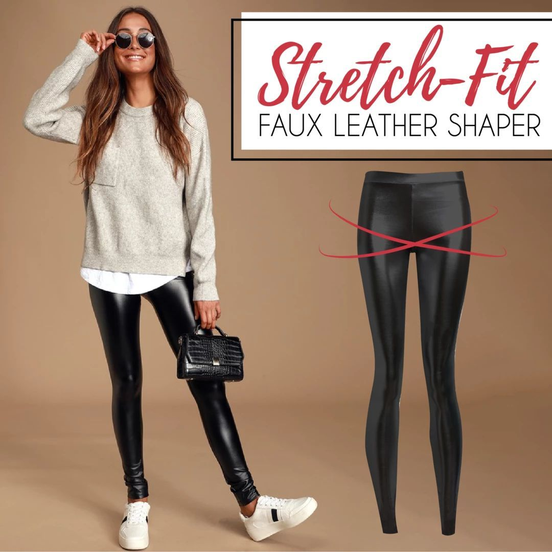 Stretch-Fit Faux Leather Shaper ( Buy 2 Get Extra 10% Off )
