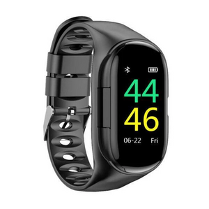 Smart Watch with Bluetooth Earphone ( Buy 2 Get Extra 10% Off )
