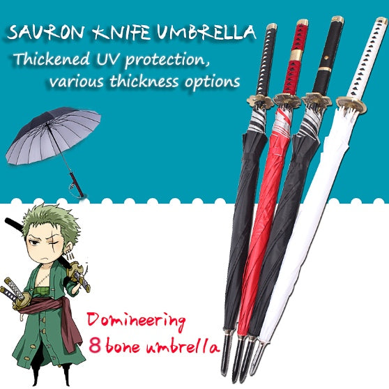 【HOT SALE】Samurai Katana Umbrella Roronoa Zoro's Swords