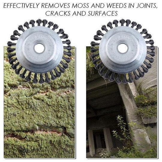 Break-Proof Wired Round Edge Weed Trimmer Blade ( Buy 2 Get Extra 10% Off )