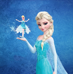 Flying Frozen Queen ( Buy 2 Get Extra 10% Off )