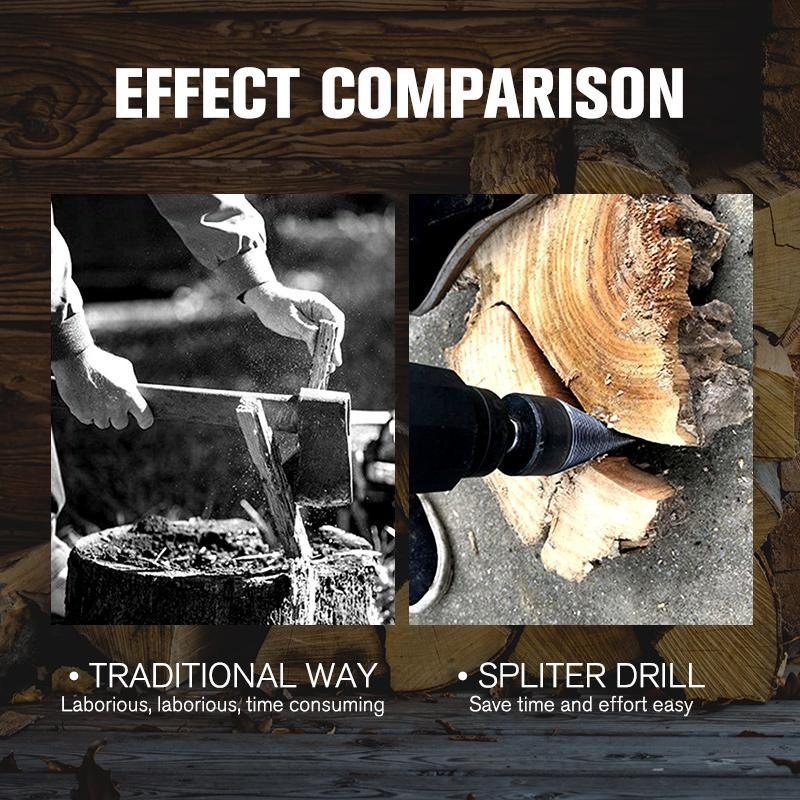 Firewood Split Drill ( Buy 2 Get Extra 10% Off )
