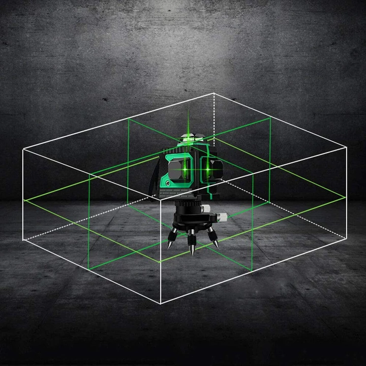 12 Lines 3D Green Laser Level ( Buy 2 Get Extra 10% Off )