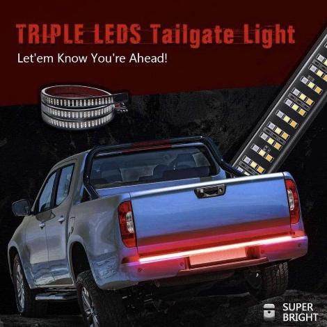 Redline Triple LED Tailgate ( Buy 2 Get Extra 10% Off )