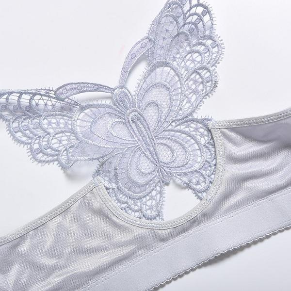 Handmade Butterfly Embroidery Front Closure Wireless Bra ( Buy 2 Get Extra 10% Off ) TopViralPick