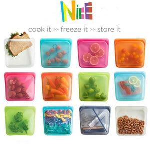 Reusable Silicone Bag Multi-Pack ( Buy 2 Get Extra 10% Off )