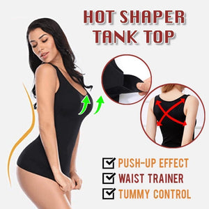 Slimming Up Contouring Compression Tank Top Shaper ( Buy 2 Get Extra 10% Off ) TopViralPick Black S