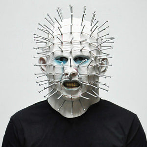 [artcorrect] Scary Pinhead Mask for Halloween ( Buy 2 Get Extra 10% Off )