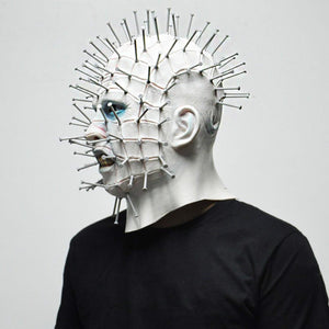Scary Pinhead Mask for Halloween ( Buy 2 Get Extra 10% Off )