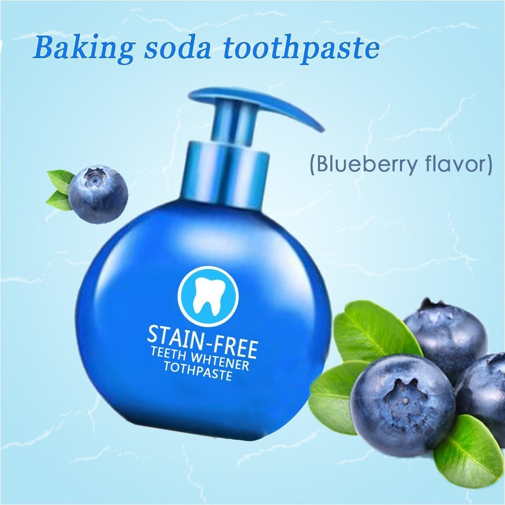 Stain-Free Teeth Whitener Toothpaste ( Buy 2 Get Extra 10% Off )