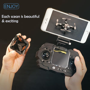 Mini Folding Unmanned Aerial Vehicle ( Buy 2 Get Extra 10% Off )