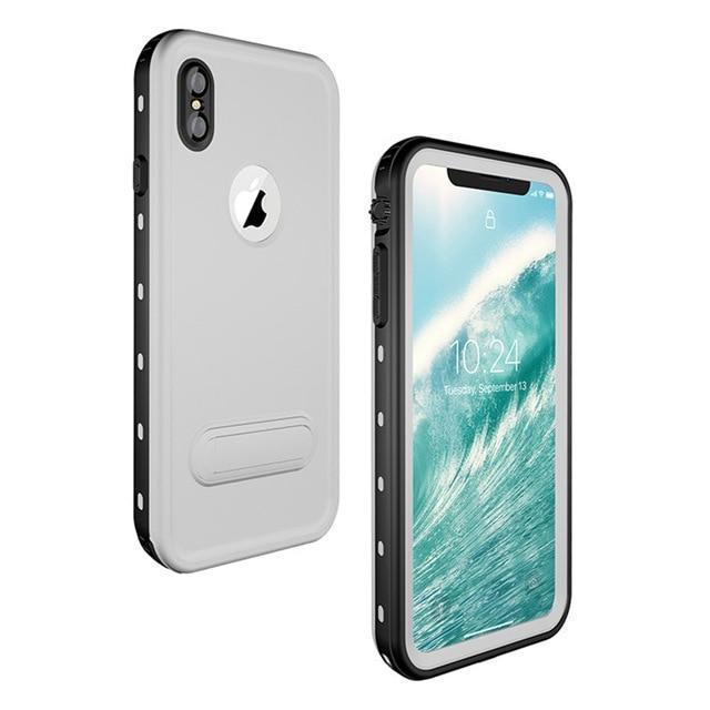Military Grade Water Proof IPHONE Slim Case ( Buy 2 Get Extra 10% Off ) TopViralPick white for iPhone X