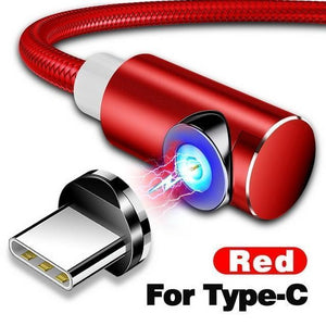 Indestructible Magnetic 3-in-1 Cable ( Buy 2 Get Extra 10% Off ) TopViralPick For Type C Red 1m (3.3ft)