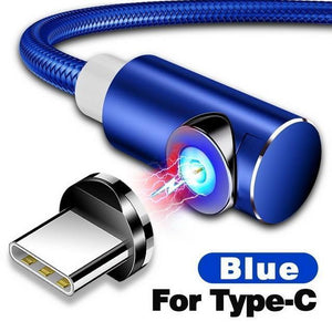 Indestructible Magnetic 3-in-1 Cable ( Buy 2 Get Extra 10% Off ) TopViralPick For Type C Blue 1m (3.3ft)