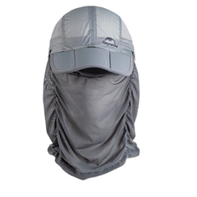 Folding Quick-Dry Cap - With Protective Breathable Mesh - Naturehike LB