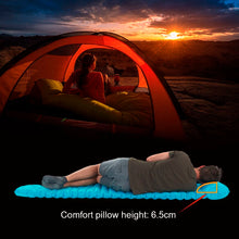 Load image into Gallery viewer, C001 New Square TPU Mattress With Pillow, Handle Press - Naturehike LB