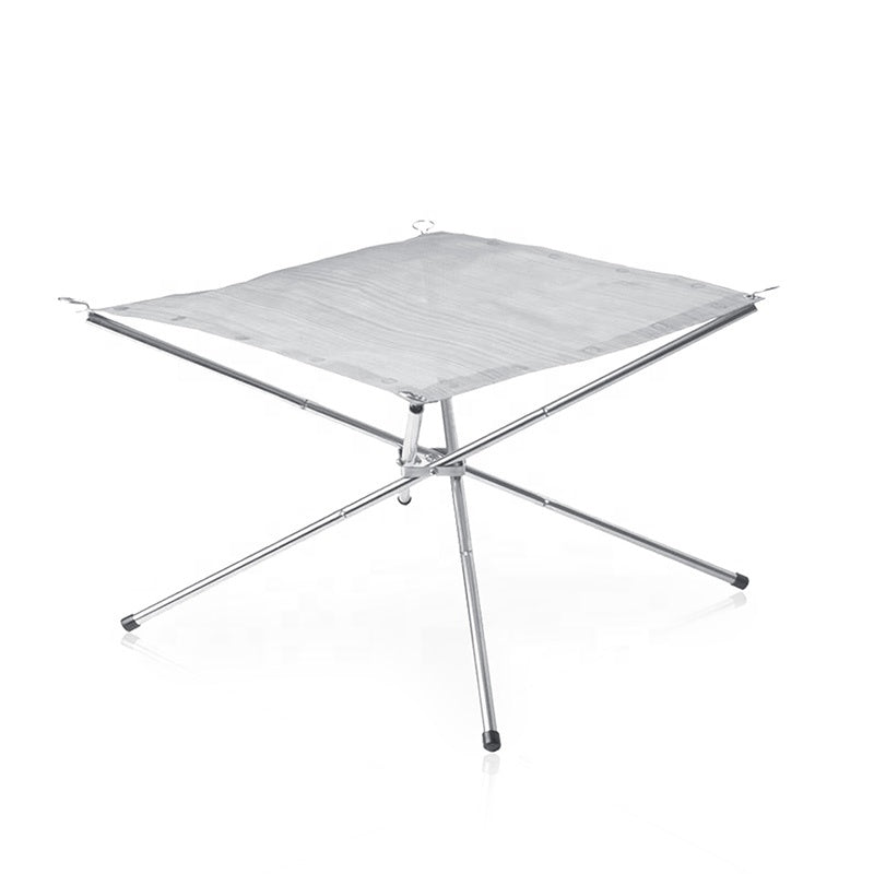 Portable Stainless Steel Folding fire rack Stand Rack