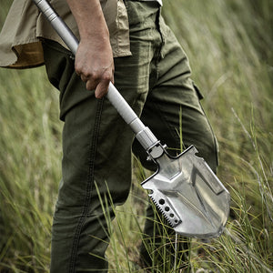 Multifunctional outdoor shovel