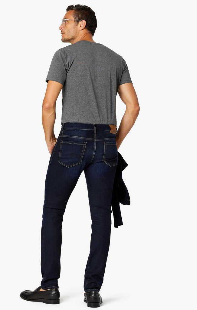 34 Heritage Cool Slim Leg Jeans in Dark Core
