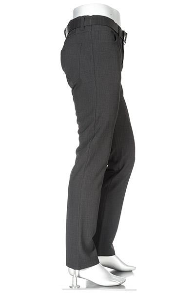 CERAMICA BASIC DRESS PANT PIPE CHARCOAL