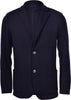 TRAVEL WOOL KNIT JACKET NAVY