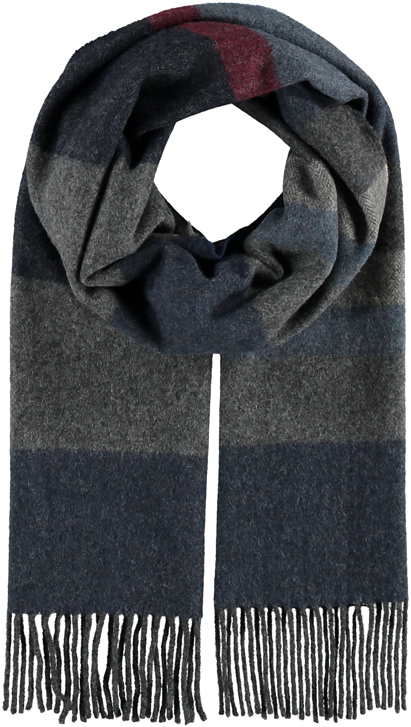 Christian Paul by sidonio's Block Stripe Scarf 318014