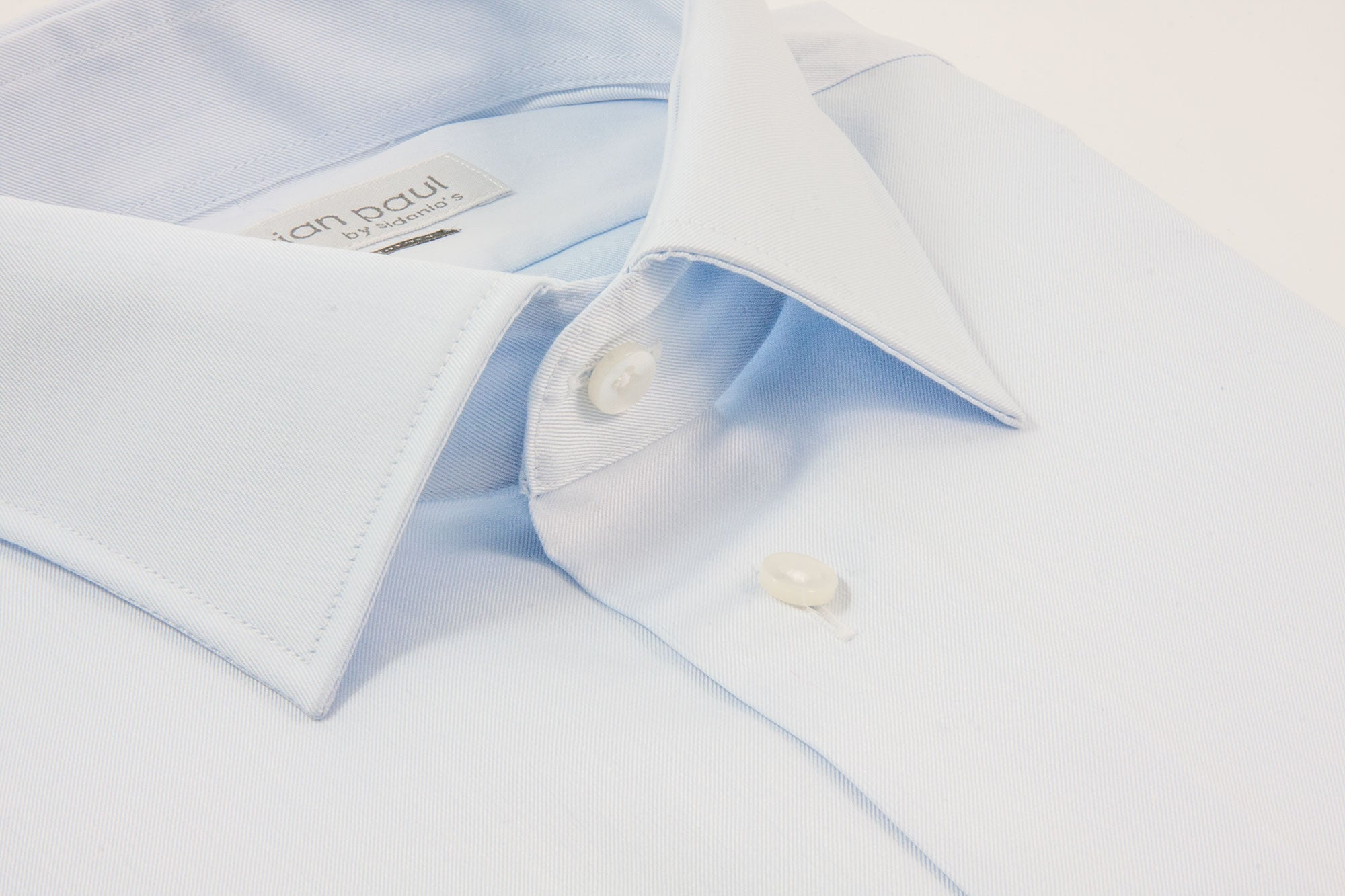 CHRISTIAN PAUL by sidonio's CONTEMPORARY FIT LIGHT BLUE DRESS SHIRT