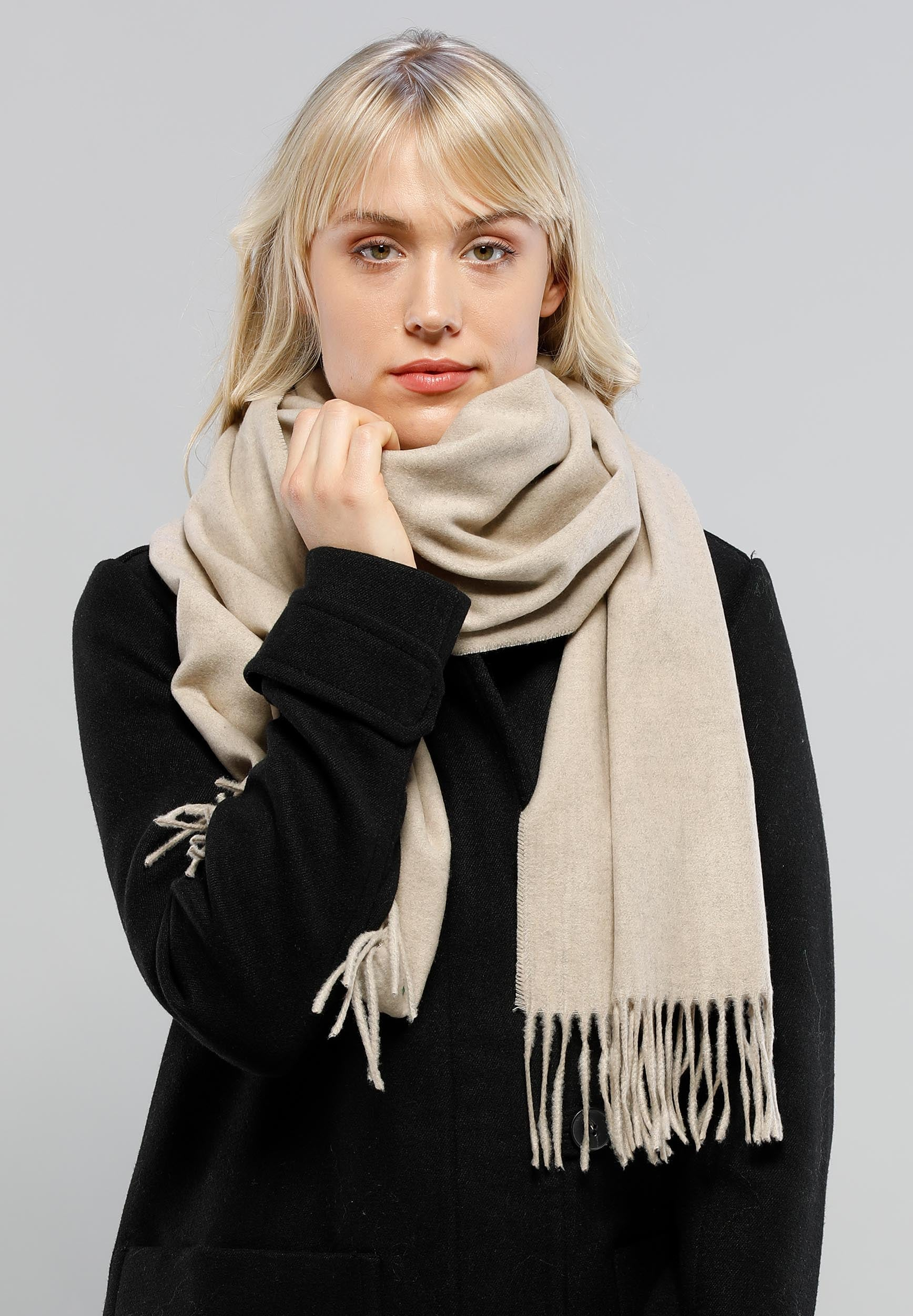 Christian Paul by sidonio's Essential Solid Oversized Cashmink® Scarf 625199