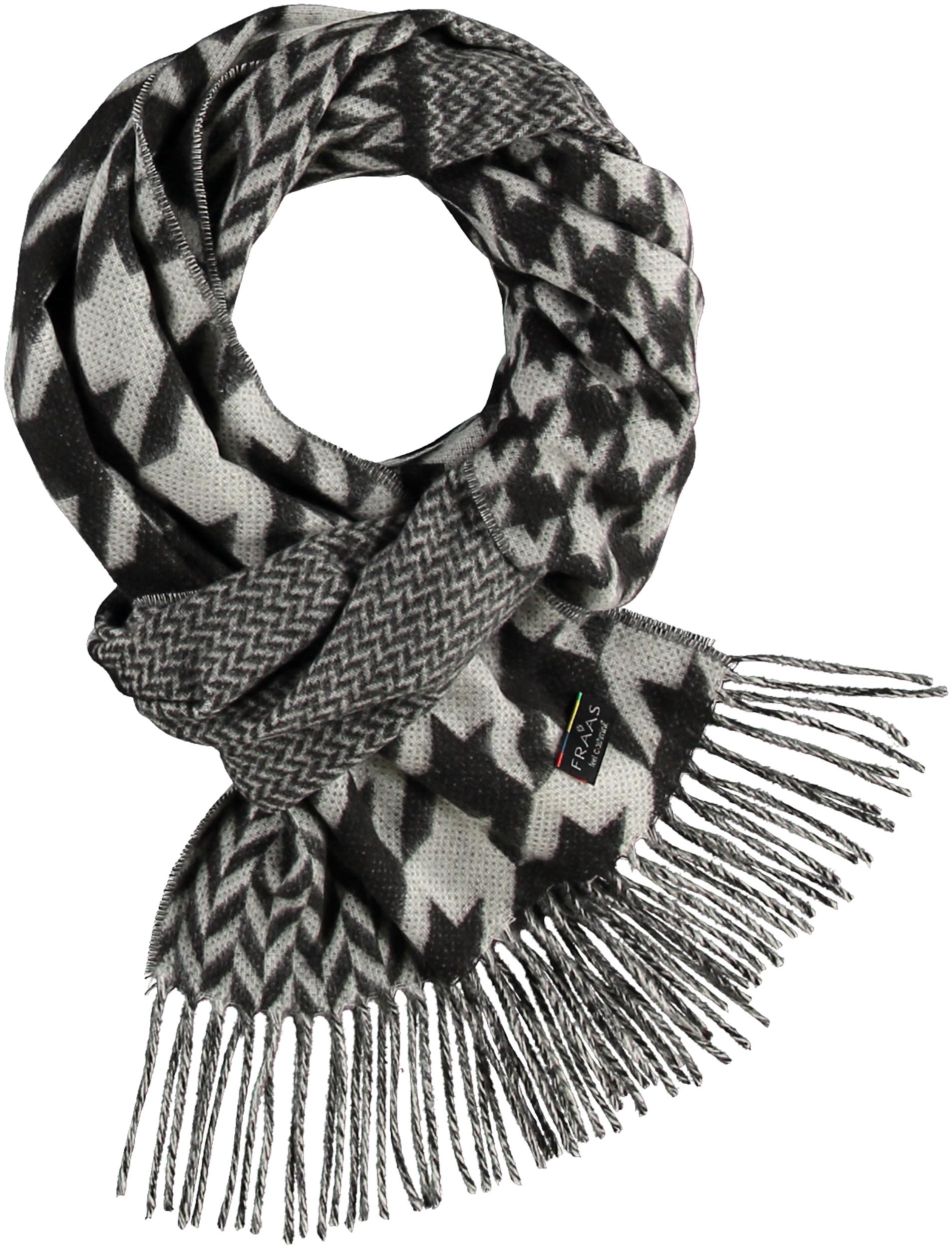 Christian Paul by sidonio's Patchwork Houndstooth Woven Cashmink® Scarf 625270