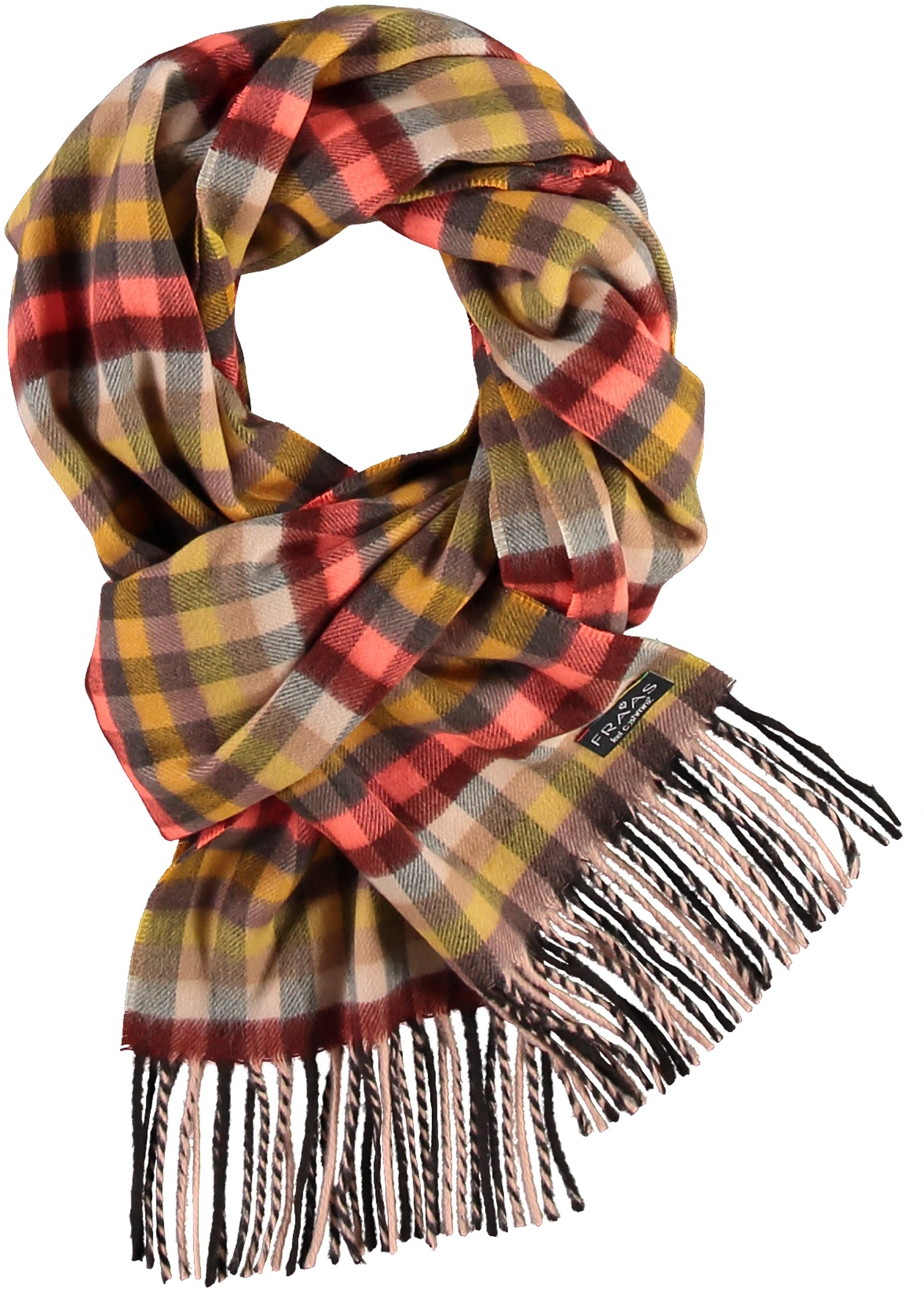 Christian Paul by sidonio's Women's Multi Check Woven Cashmink® Scarf 625282