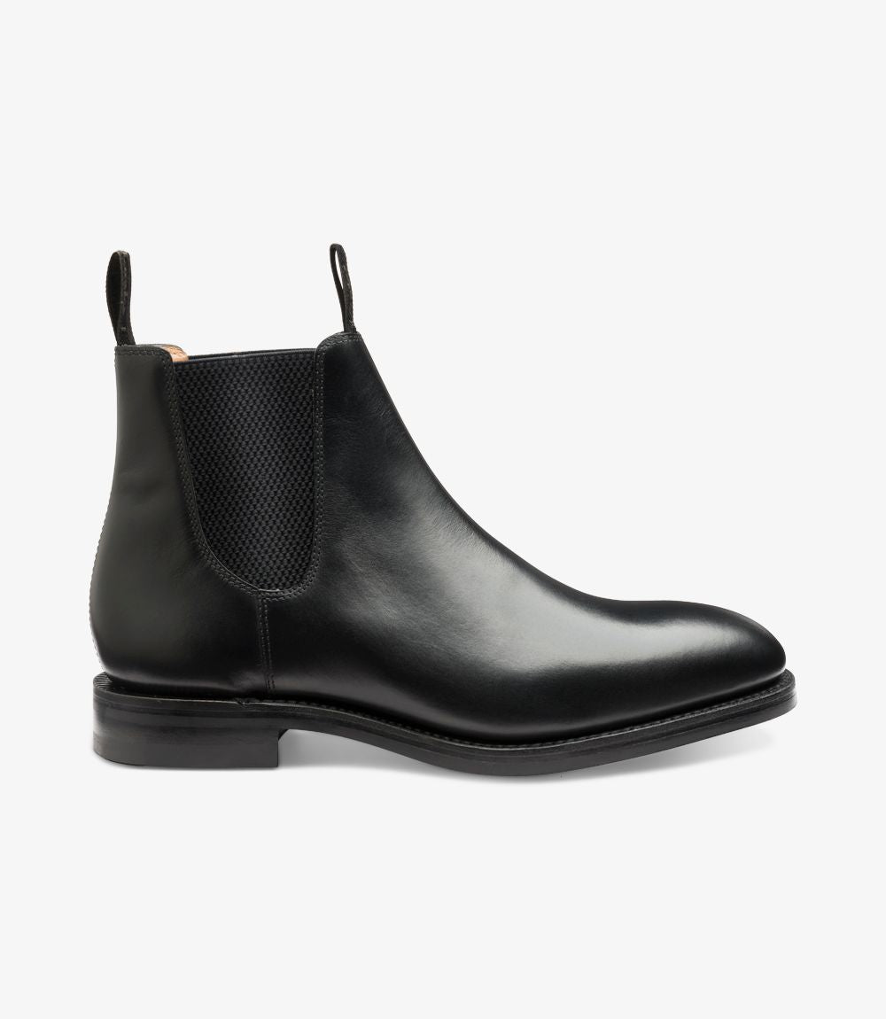 Chatsworth leather boot Black