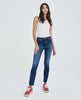 THE MARI High-rise straight jean 10yrs defined