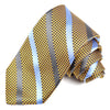 Christian Paul by sidonio's Silk Tie Stripe Gold