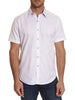 ANDRETTI SHORT SLEEVE SPORT SHIRT CLASSIC FIT WHITE