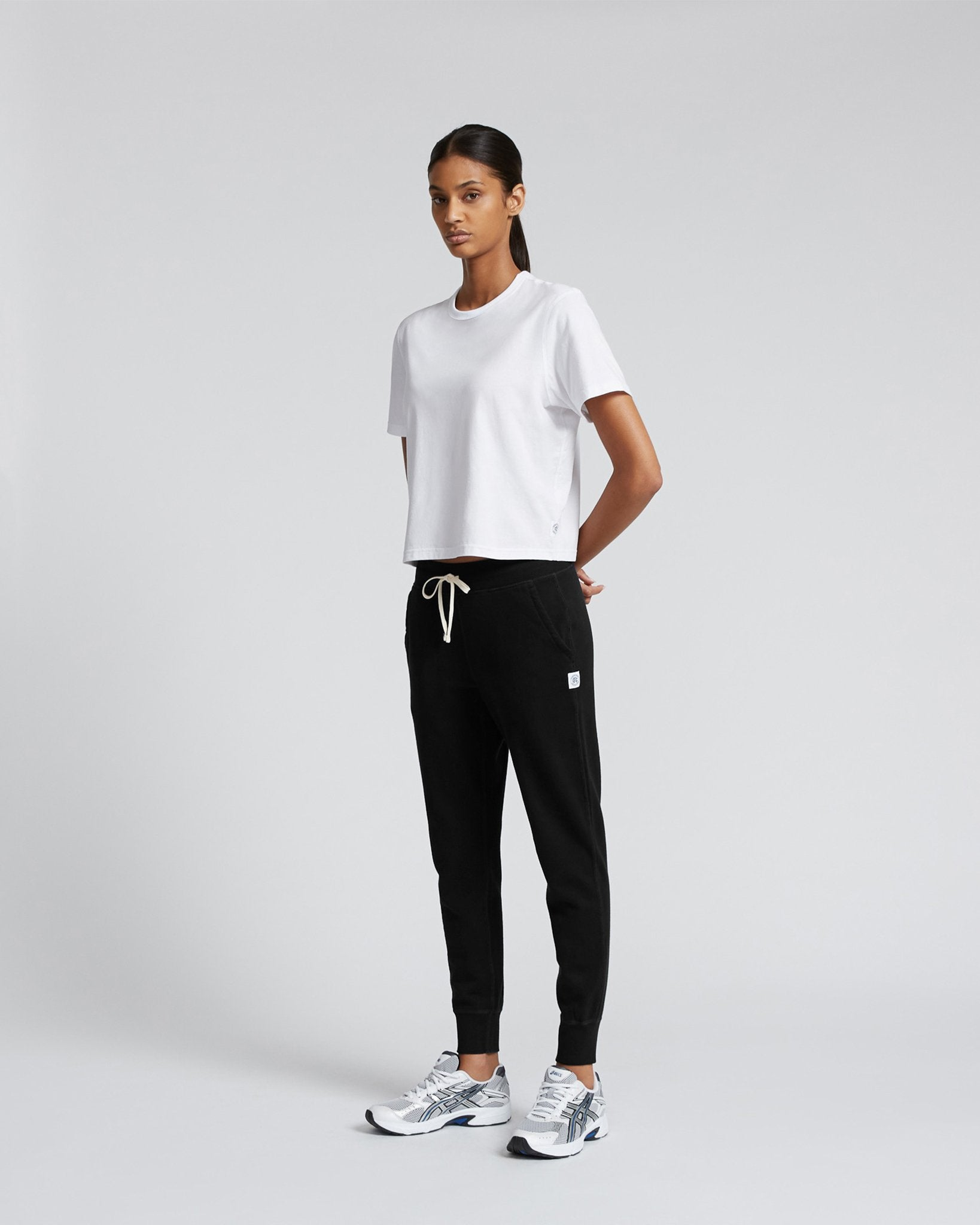 Reigning Champ Lightweight Terry Slim Sweatpant Womens RC-W5000 Black