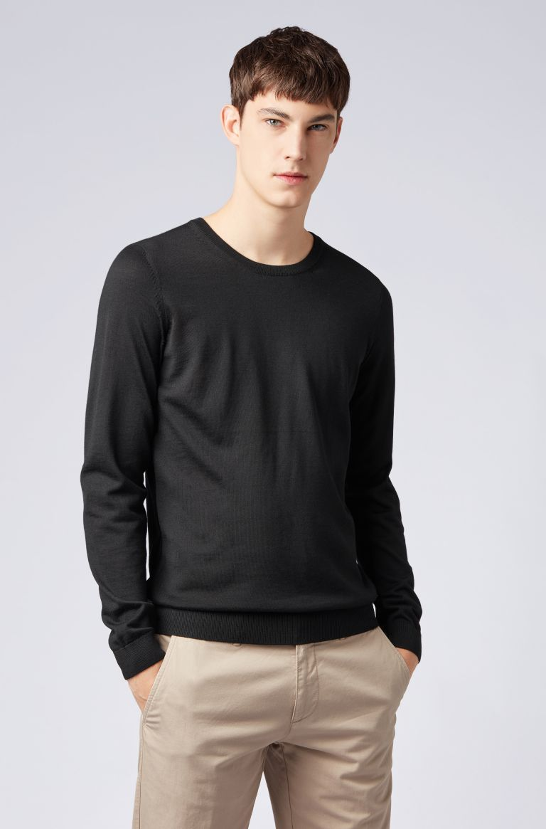 Hugo Boss Leno-P Long Sleeve Crew Neck 50378575