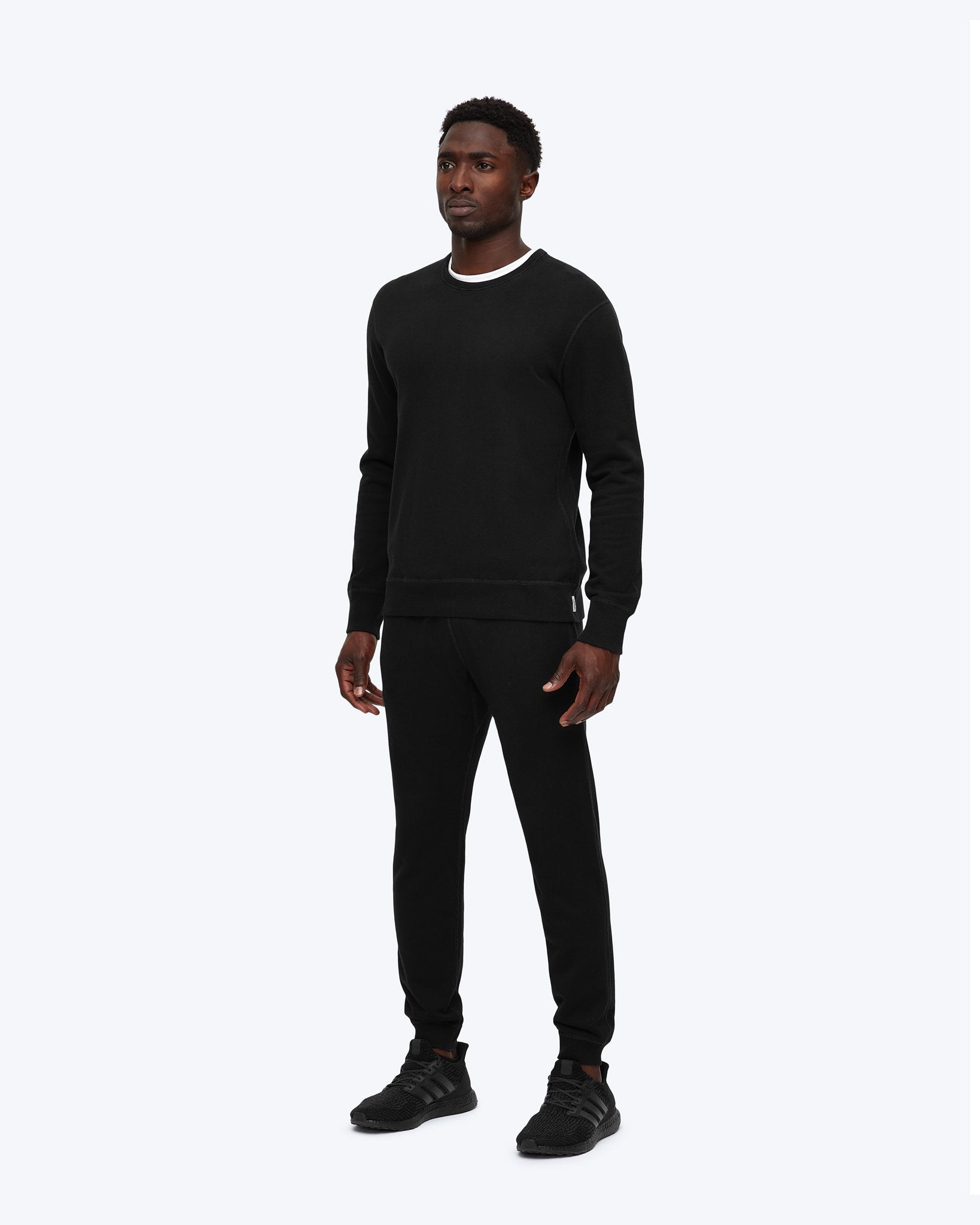 Reigning Champ MIDWEIGHT TERRY SLIM SWEATPANT RC-5075 Black